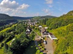 Foto's vom angrenzenden Garten des Ferienhauses Der Eifeler Sonnenhof