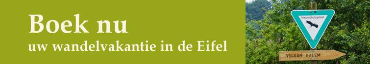 wandelvakantie boeken in de Eifel